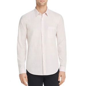 NWT Theory Rammy Corded Chambray Shirt